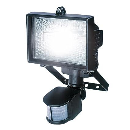 Varo POWLI011 - Foco halógeno con sensor de movimiento por infrarrojos (120 W)