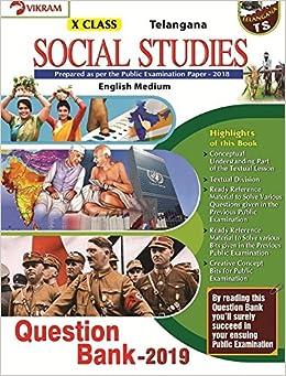 Buy TS-10th Class-Social Studies-(EM)-QB-2019 Book Online at