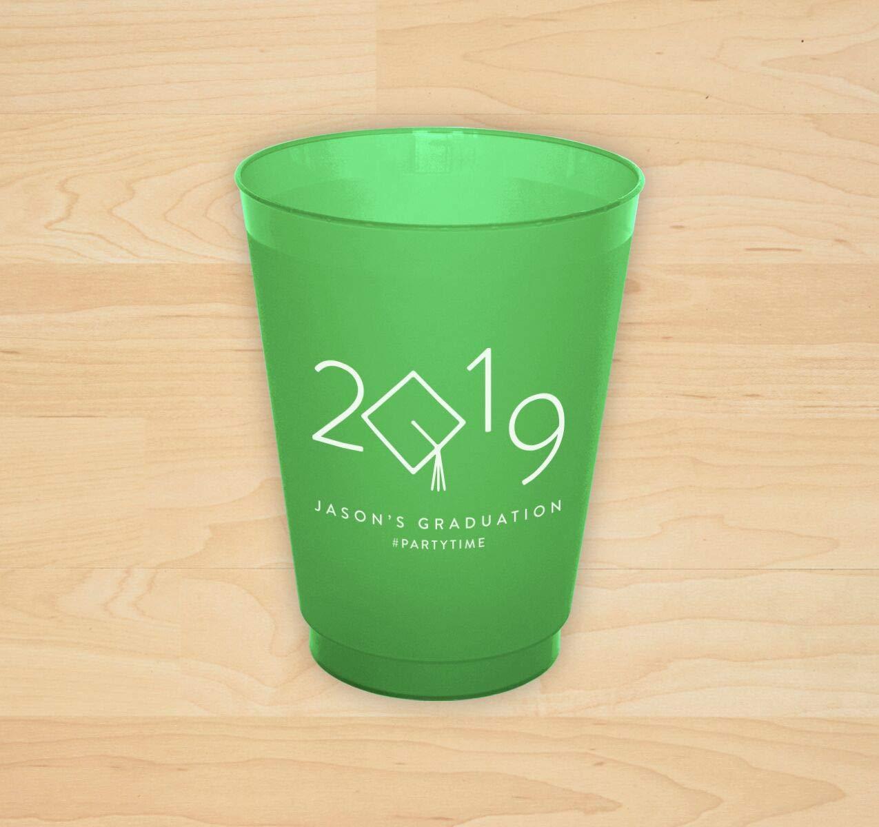 2019 Grad Cap Cup - Set of 150-4181