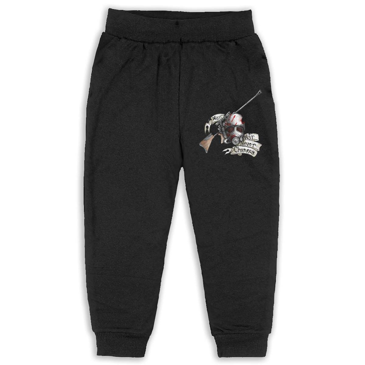 Pleasantly Bioshock Tattoo Long Pants Sweatpants for Unisex Childrens Casual Trousers Black