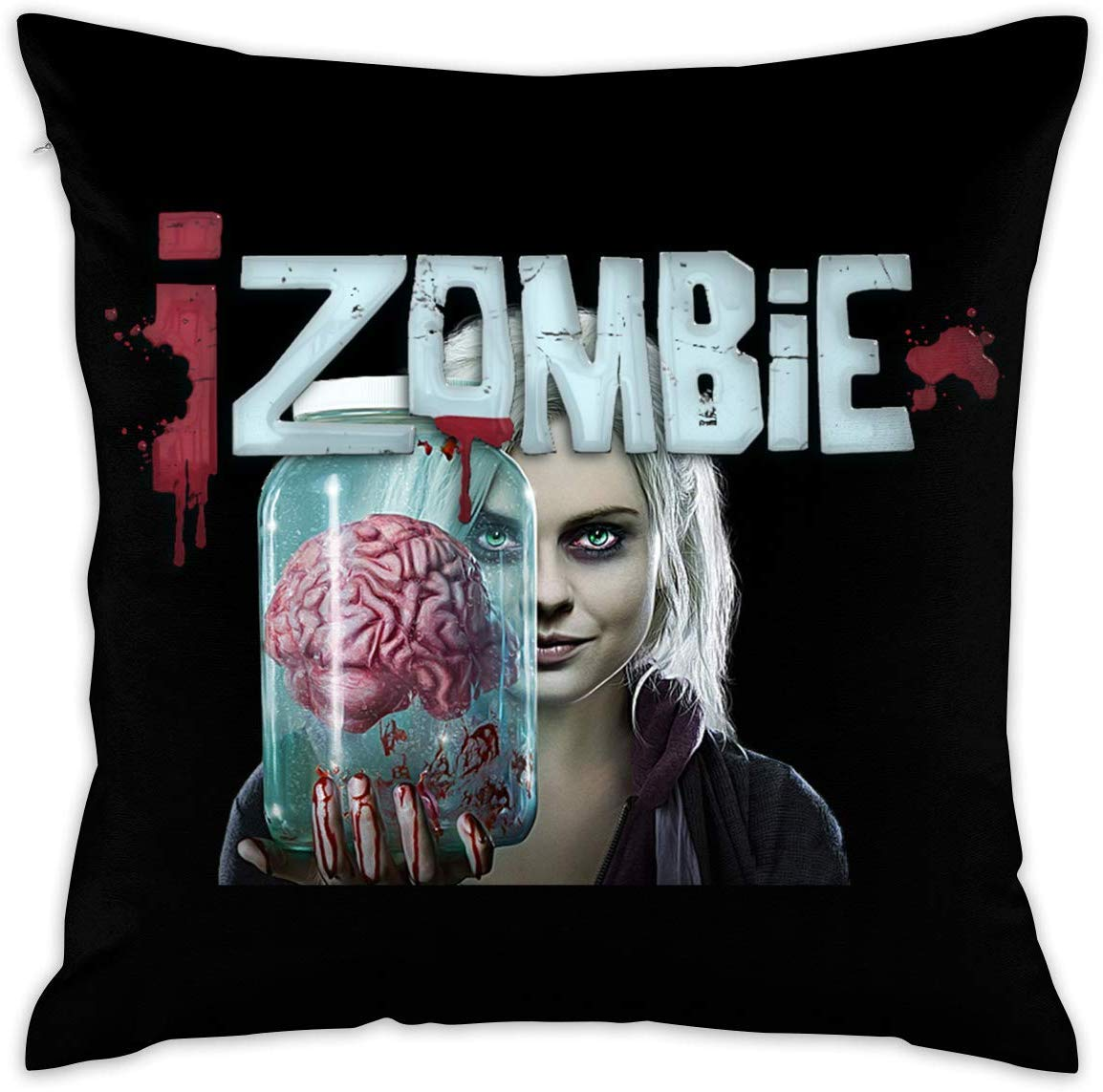 MKLHAT IZombie Season Decorative Throw Pillow Covers Case Pillowcases18 X 18 inch