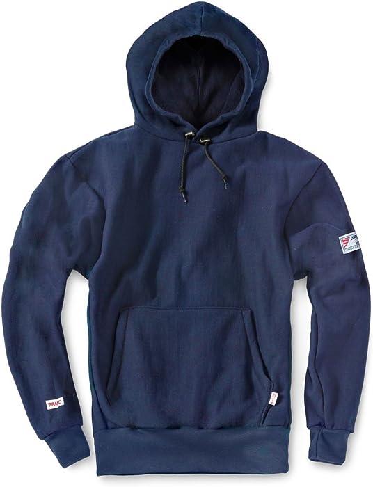a75b12036ad1 Amazon.com  Tyndale Pullover FR Hooded Sweatshirt Medium-Long Navy ...
