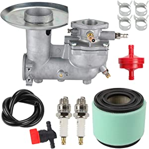 Venseri 392587 Carburetor + Air Filter + Fuel Line Filter Clamp for 391065 391074 391992 394745 220400 254400 Engine