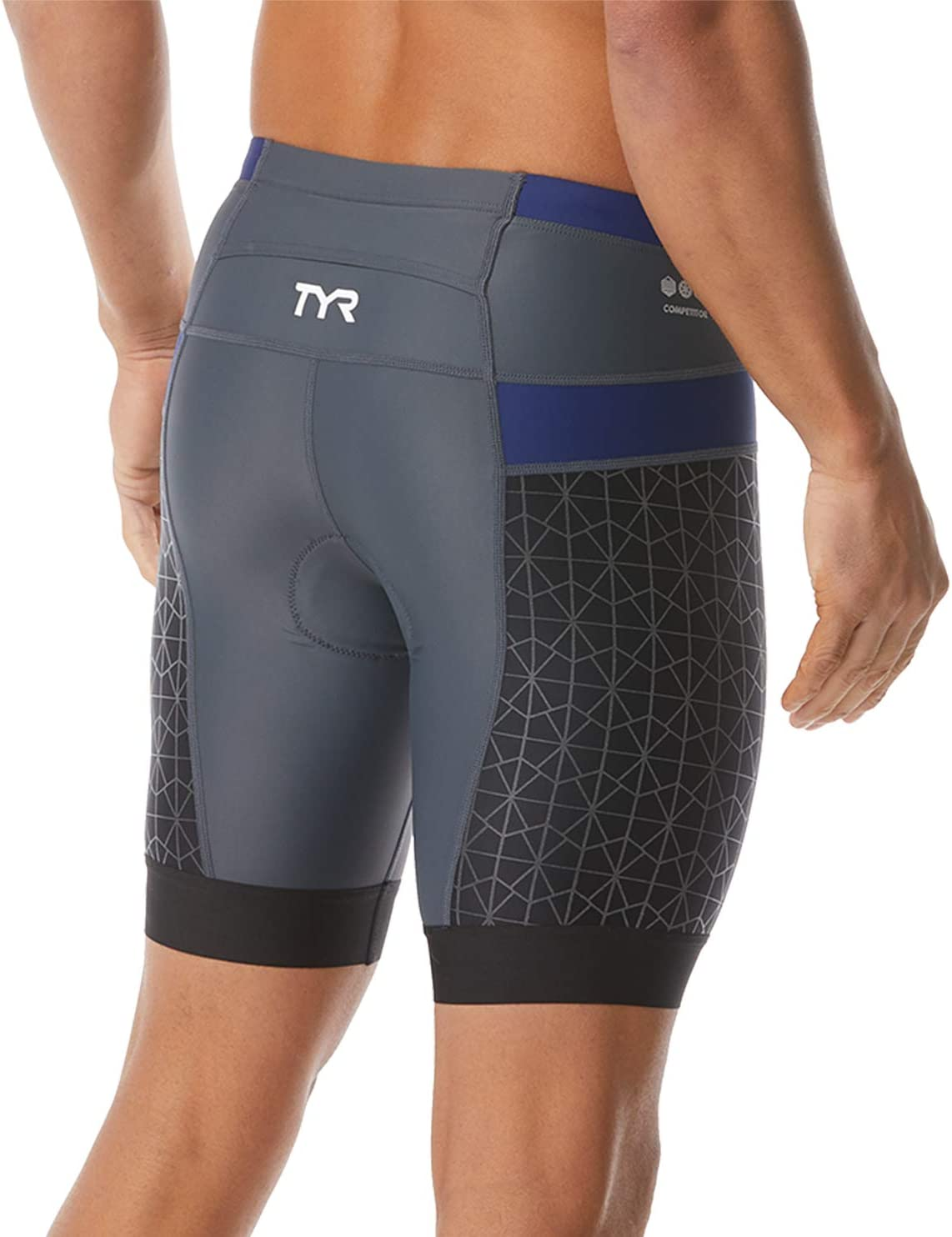 TYR Mens 7 Competitor Tri Short