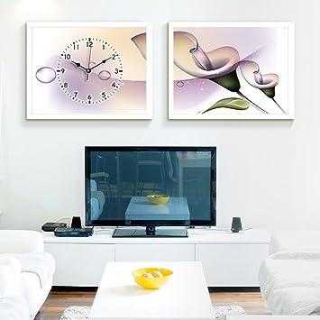 Amazon.de: Decoration MEIDUO Wand-Dekor Moderne Wohnzimmer ...