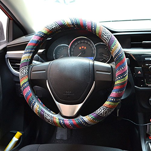 stylish steering wheel cover - 8