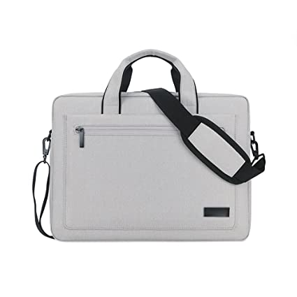 Jia Hu 1pc portátil maletín cartera hombro mensajero bolsa documento organizador para business College, color