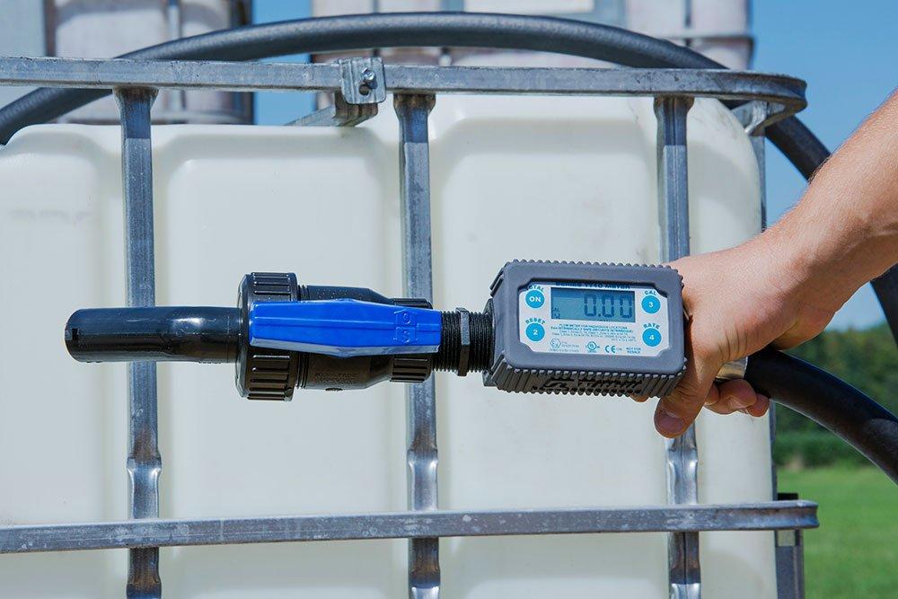 Sotera TT10PB 8-132 LPM Inline Digital Turbine Chemical Meter