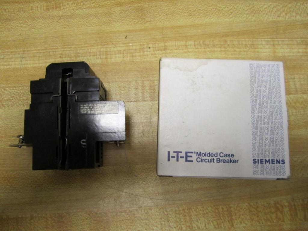 1- P230 Pushmatic Bulldog ITE Siemens 30 AMP, 2 POLE, CIRCUIT BREAKER  120/240V 30A DOUBLE POLE FULL SIZE 2P BOLT-IN: Thermal Circuit Breakers:  Amazon.com: ...