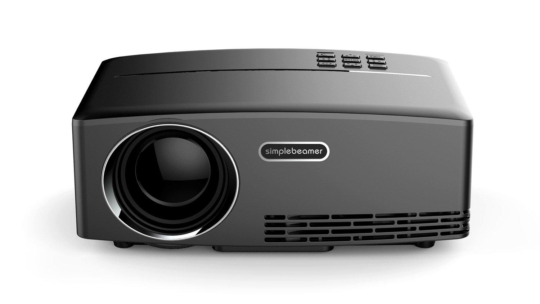 Proyector de Vídeo,DYDYLU Proyector de Cine en Casa Soporte 1080p ...