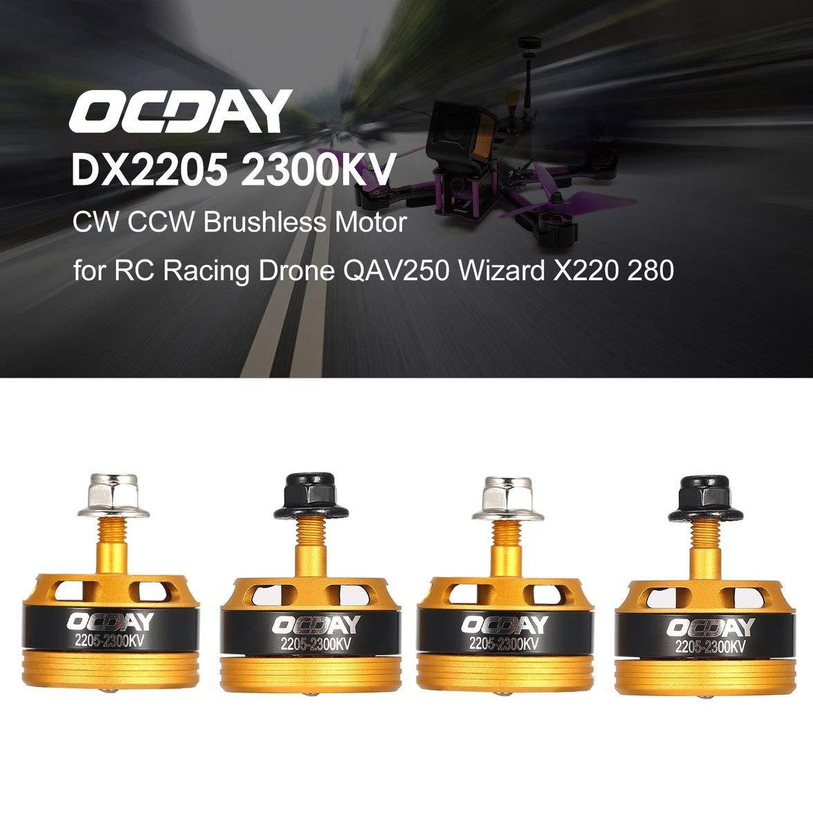 Kongqiabona OCDAY 2205 2205 2300KV 3-4S CW/CCW Motor sin ...