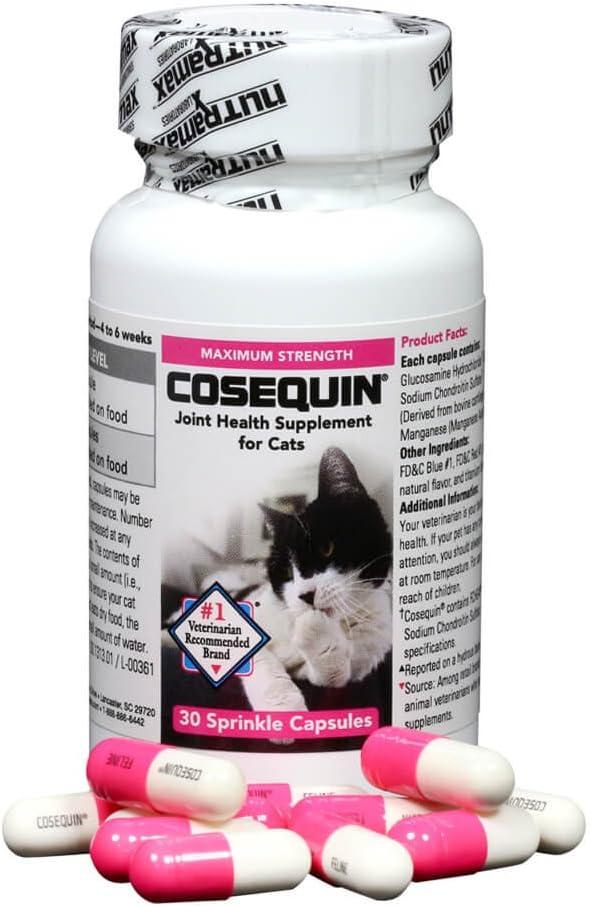 Nutramax CQCAT30 30 Count Capsule Cosequin for Cats