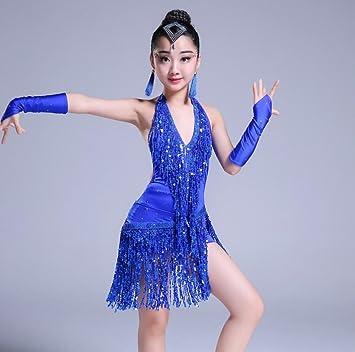 Vestido de Baile Latino para niños Traje de Competencia ...