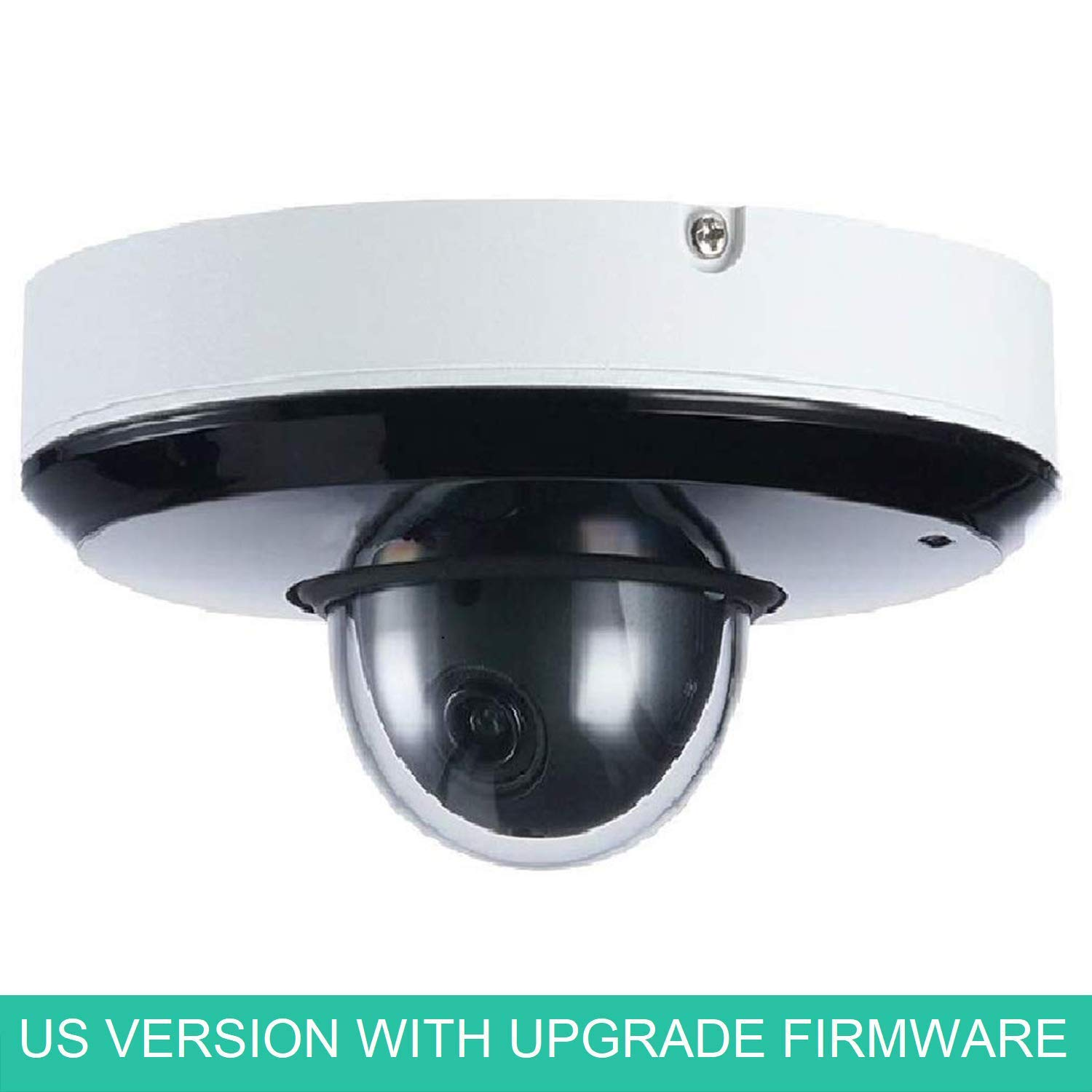 LINOVISION OEM IP Mini PTZ Camera SD1A203T-GN 2MP 3X 2.7-8.1mm Lens Starlight IR PTZ Network Camera US Version with Upgradable Firmware Plug-n-Play with Dahua NVR
