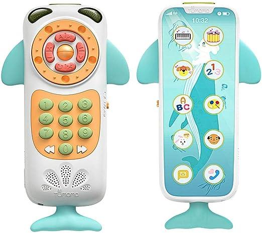Belukies Baby Toys Music Teléfono Móvil TV Remote, My Learning ...