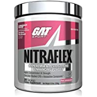 GAT Sport NITRAFLEX, Testosterone Boosting Powder, Increases Blood Flow, Boosts Strength and Energy, Improves Exercise…