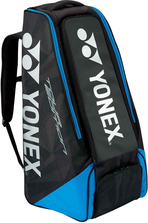 ヨネックス バッグ テニス スタンドバッグ ラケット2本収納 【返品不可】 - (国内正規品) B07BNFTQ93  ブラック/ブルー