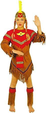 Stamco Disfraz India Piel Roja (8 - De 6 a 8 años): Amazon.es ...