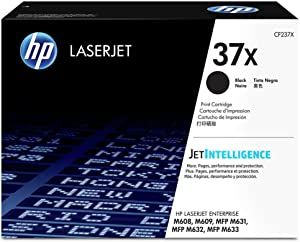 HP 37X | CF237X | Toner Cartridge | Black | High Yield