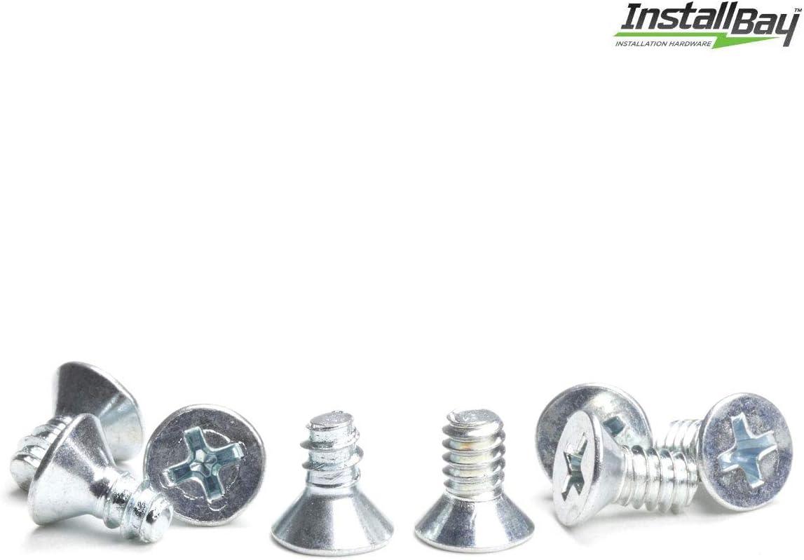 Iso Flat Head Screw Pack Package Of 8 Each Install Bay Screws Iso Pack ISOPK