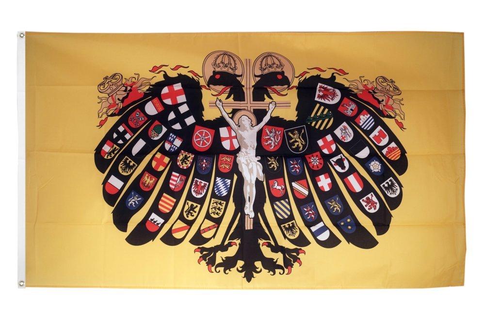 Bandiera//bandiera Deutsches REICH IMPERO hissflagge 90 x 150 cm