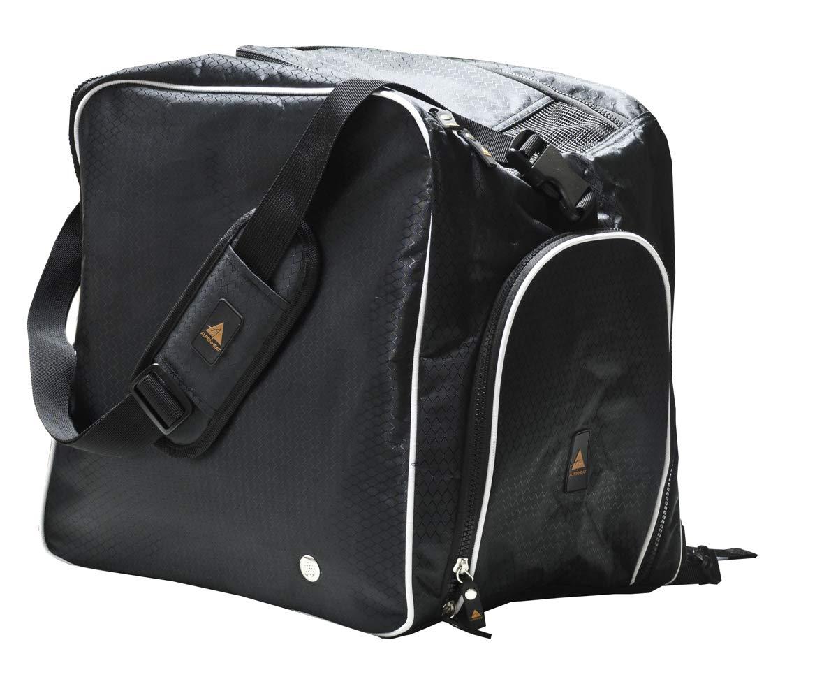 Alpenheat beheizte Schuhtasche Fire-Bootbag mit Schulter-und Rucksackträger - 25 Jahre Limitierte Sonderedition, mit 230 V und 12 V Anschluß