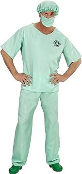 WIDMANN 00464 ? Adultos Disfraz Médico de urgencias, Superior ...