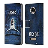 Official AC/DC ACDC Ballbreaker Album Art Leather Book Wallet Case Cover For Motorola Moto Z Play / Droid