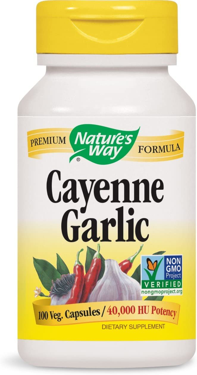 Natures Way Cayenne Garlic