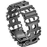 Diamond Survival Multitools Gloss Jet Black Bracelet - Original Travel Friendly Wearable Wilderness Bracelets for…
