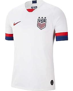 973f0682b Amazon.com : NIKE Men's Soccer U.S. Home Jersey : Sports & Outdoors