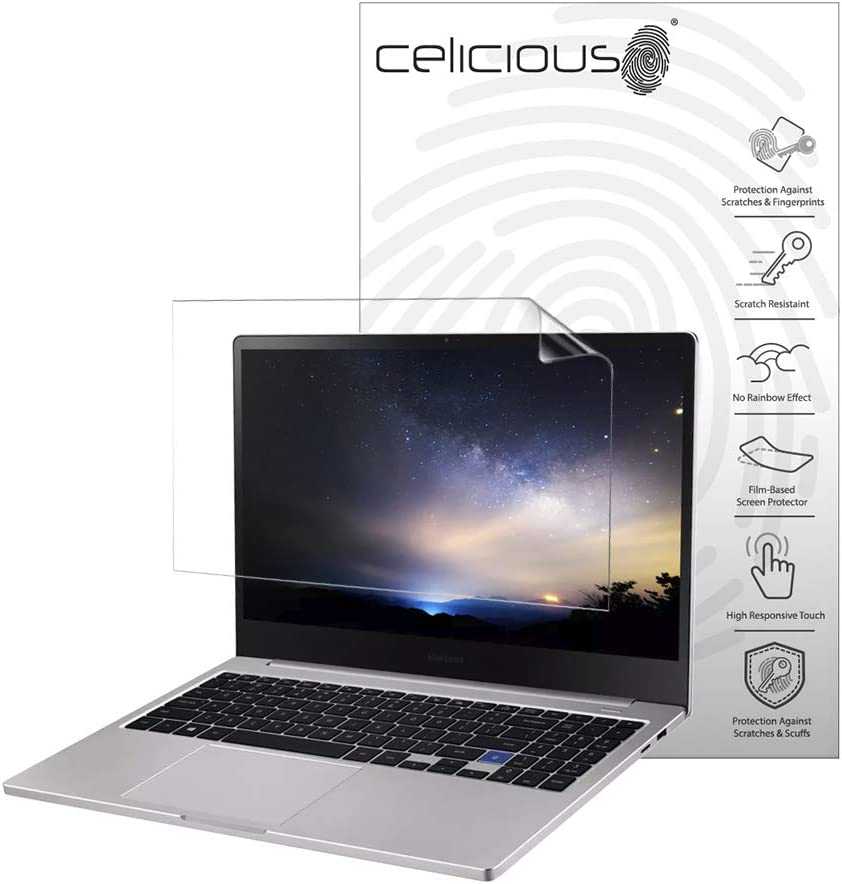 Celicious Vivid Plus Mild Anti-Glare Screen Protector Film Compatible with Samsung Notebook 7 15 NP750XBE [Pack of 2]