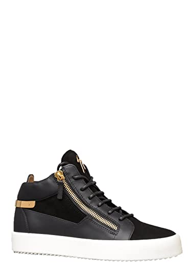 880ac6e1e5e7c Giuseppe Zanotti Mens RM80050 Kriss Trainer in Black: Amazon.co.uk ...