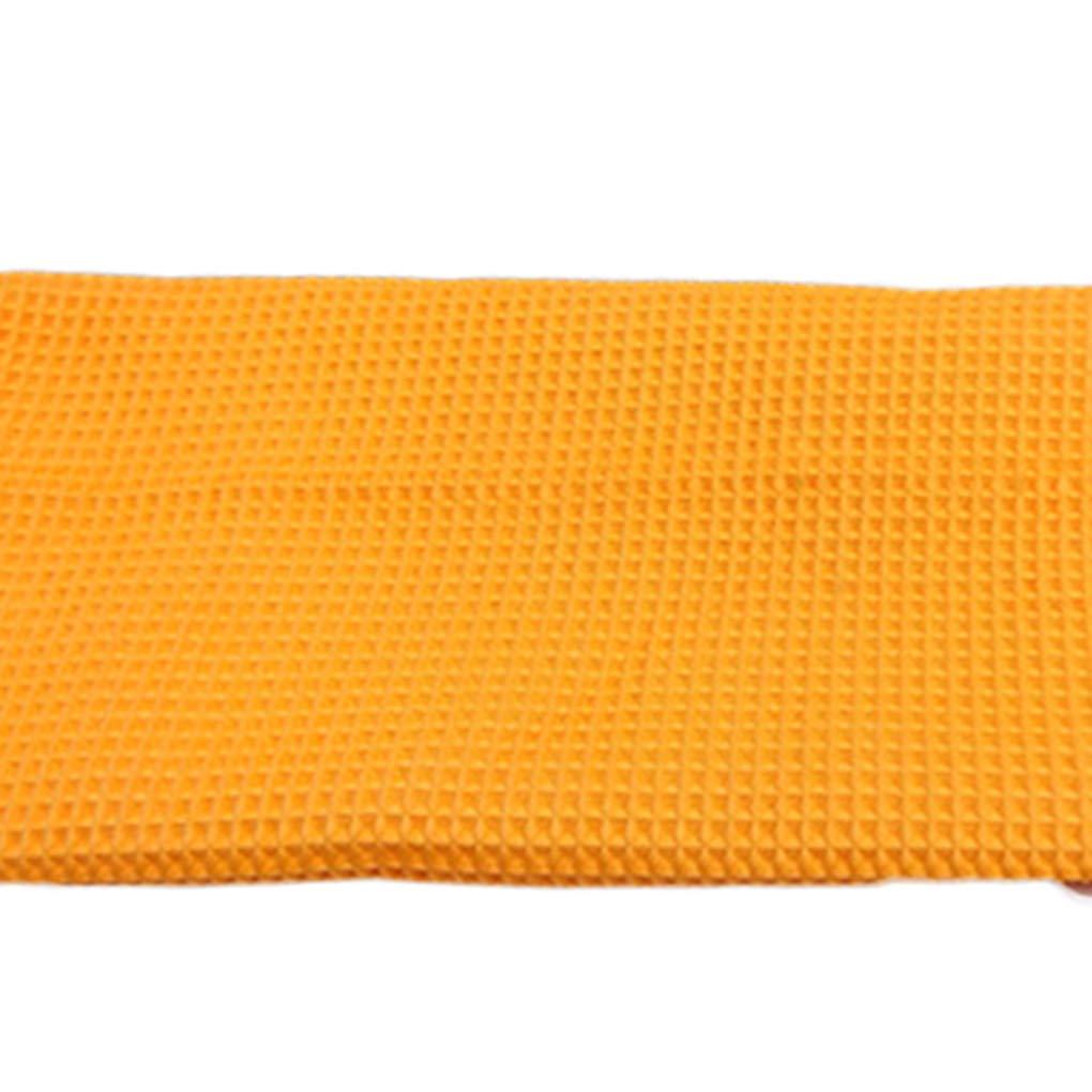 Pandiki Nettoyage Microfibre Voiture Chiffons Waffle Polissage Nettoyage Automatique Essuyez Absorbent s/èche-Serviettes