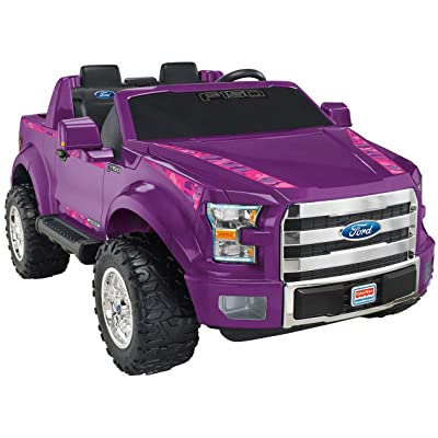 Power Wheels Ford F-150, Purple Camo: Toys & Games