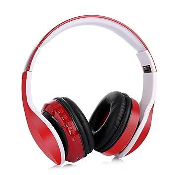 Auriculares bluetooth plegables de la inserción de la tarjeta de Bluetooth 4.2 inserción: Amazon.es: Instrumentos musicales