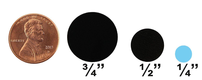 0.25 in Color-Coding Dot Stickers Permanent Adhesive 1//4 Metallic Gold - 1,000 Labels per Dispenser Box