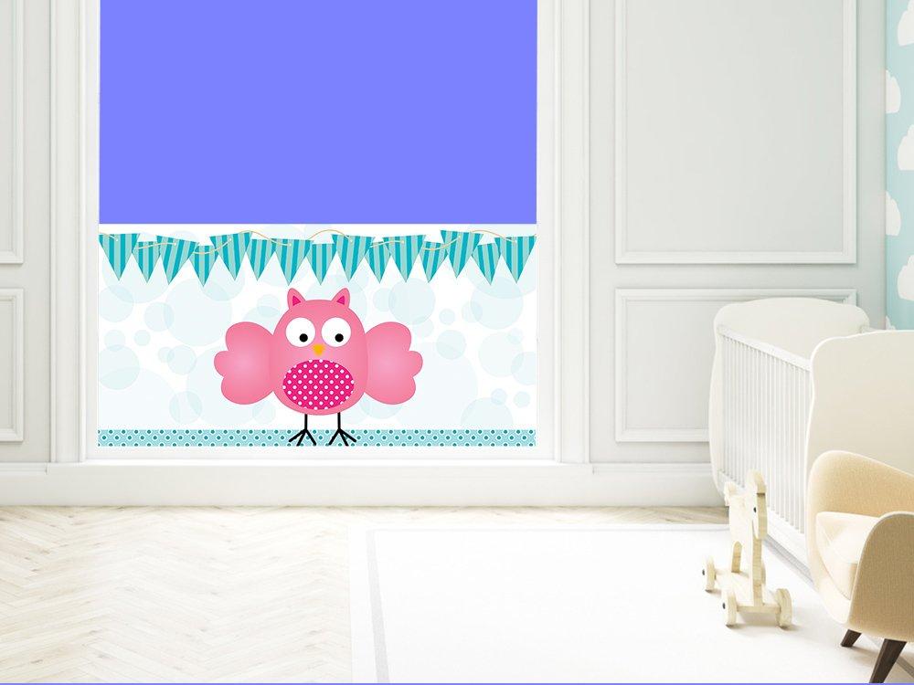Graz Design Sichtschutz Fensterfolie Folie Farbig für Kinderzimmer ...