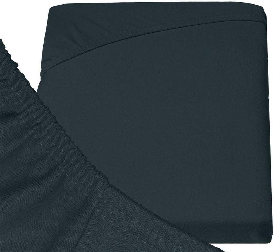 Drap Grand Bonnet 30 cm Silky Jersey Drap-Housse Qualit/é Sup/érieur 100/% Coton Drap de lit en Jersey Extensible et tr/és Doux et Un Ajustement Parfait- Matelas Epais 90x190//200x30 Rose