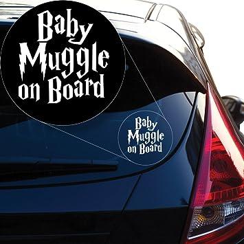 Muggle Please Vinyl Sticker