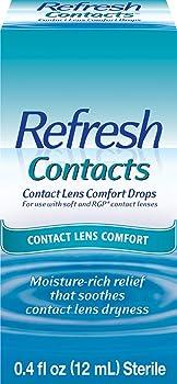 Refresh Contact Lens Comfort Drops 0.4 Fl Oz