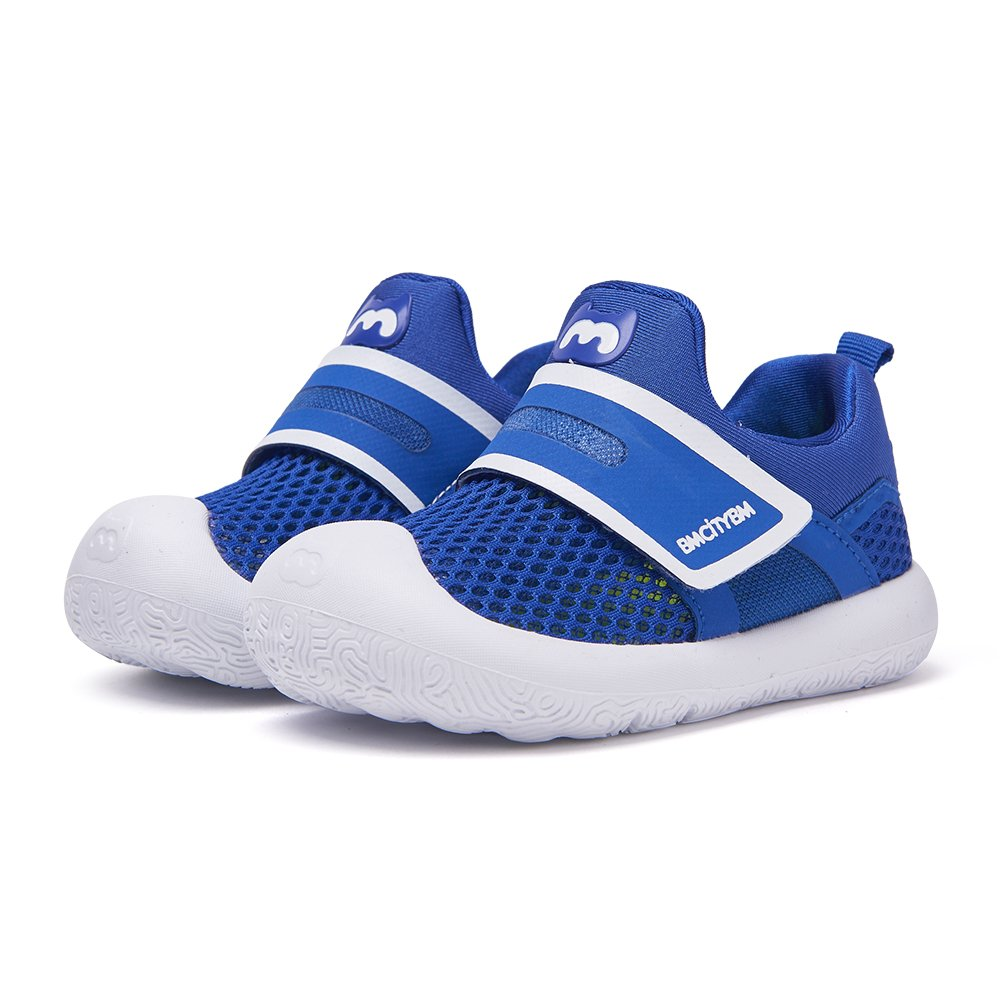 Toddler Aqua Shoes Kids Breathable Walking Shoes Blue Size 6 Boys Girls by BMCITYBM