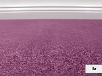 Teppichboden Auslegware Vorwerk Bijou Uni Lila Muster Amazon De
