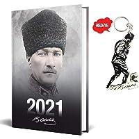 2021 Atatürk Ajanda - Komutan + Kocatepe Anahtarlık