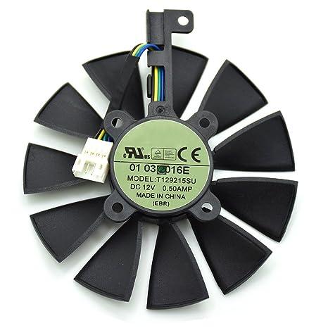aorsi marca nueva tarjeta gráfica ventilador GTX960/970 1070 ...