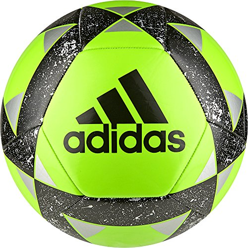 adidas Performance Starlancer V Soccer Ball, Dark Green, Size 5 (Soccer 5 Size Ball Adidas)