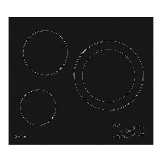 Indesit placa vitroceramica ri360c 3 zonas de coccion ...