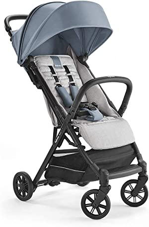 Inglesina Quid Stroller - Lightweight, Foldable & Compact Baby Stroller for Travel - Stormy Gray