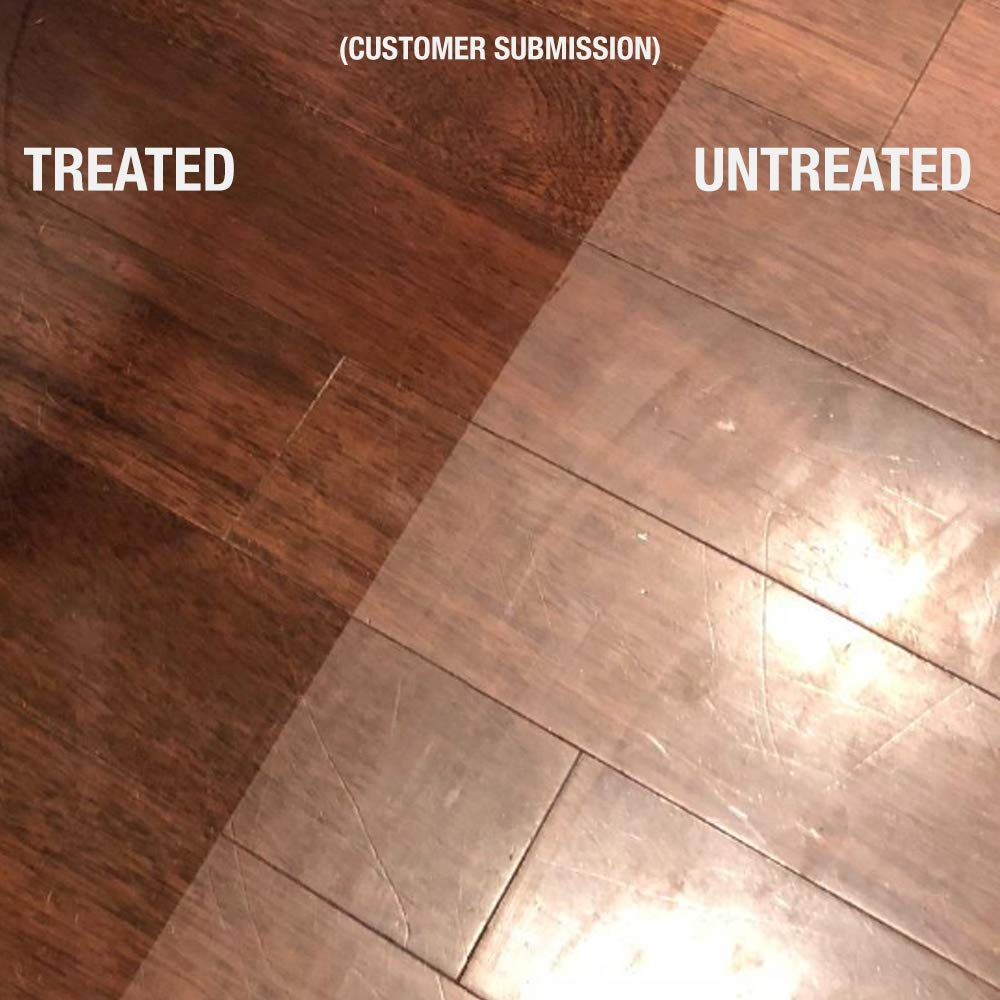 Ultra HIGH Gloss 33% Solids Floor Finish Wax - 4 Gallon Case (More Durable, Less Coats, Less Labor) by Green Gobbler (Image #6)