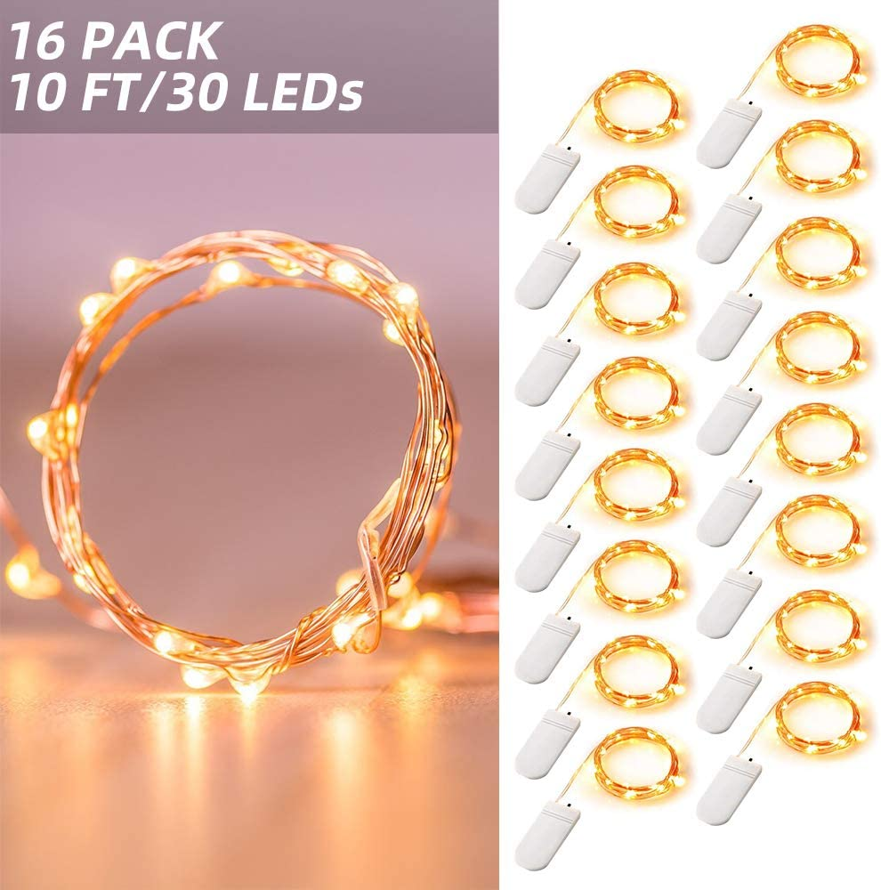 Christmas DIY LED Wire String Lights Fairy Birthday Party Decor Wedding Supplies